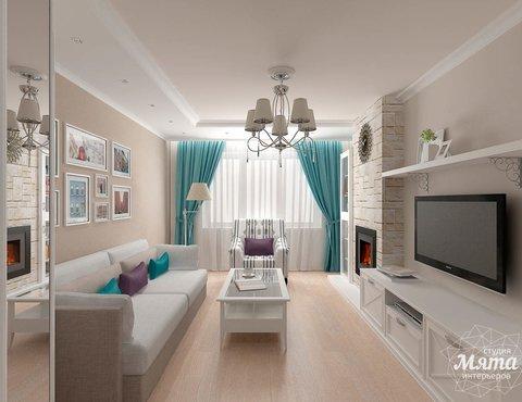 Дизайн интерьера двухкомнатной квартиры по ул. Шаумяна 93
