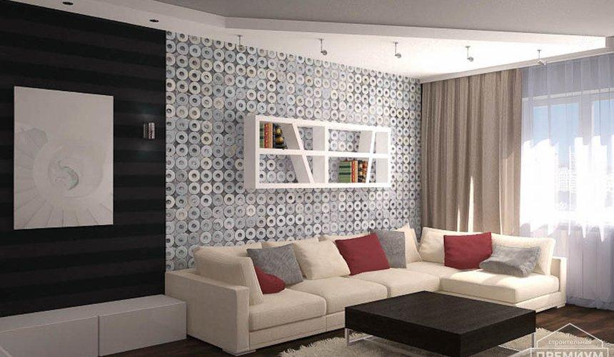 Дизайн интерьера однокомнатной квартиры по ул. Сыромолотова 11 3
