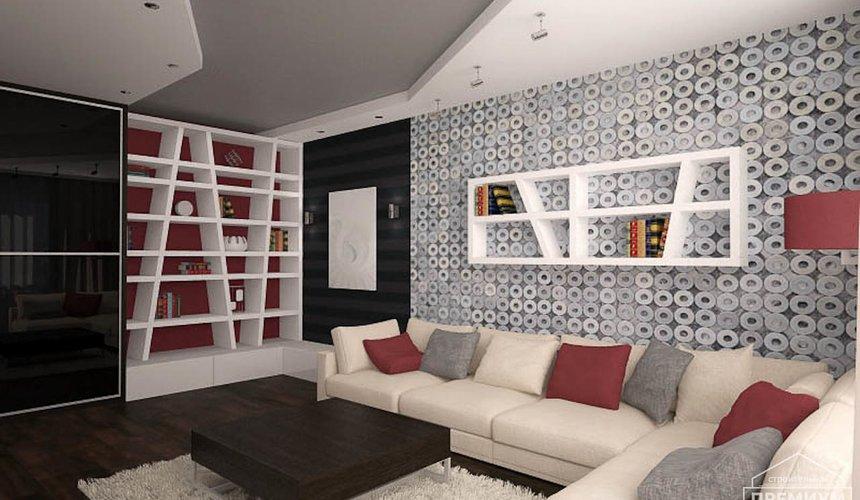 Дизайн интерьера однокомнатной квартиры по ул. Сыромолотова 11 4