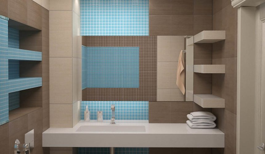 Дизайн интерьера однокомнатной квартиры по ул. Сыромолотова 11 16