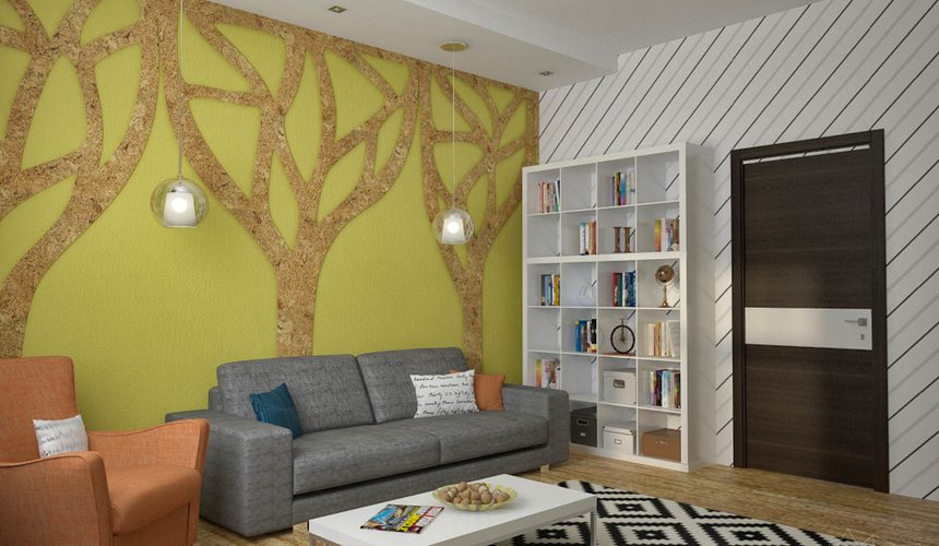 Дизайн проект интерьера коттеджа  в стиле минимализм по ул. Барвинка 15 55