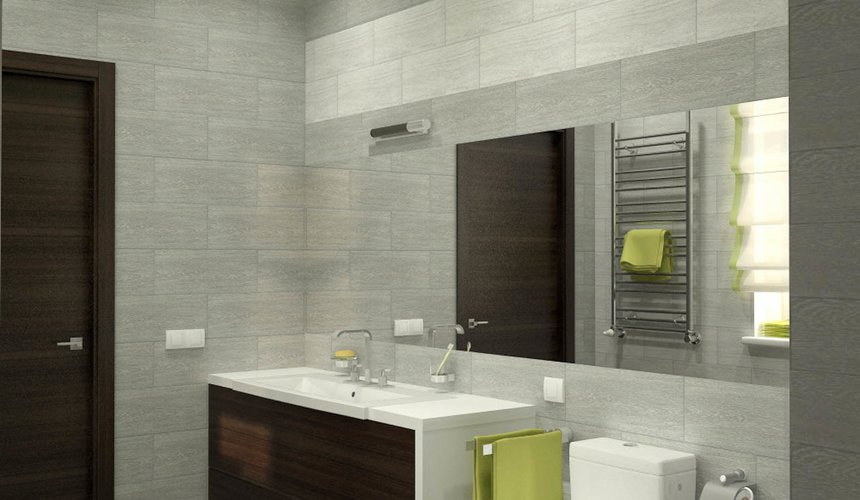 Дизайн проект интерьера коттеджа  в стиле минимализм по ул. Барвинка 15 73