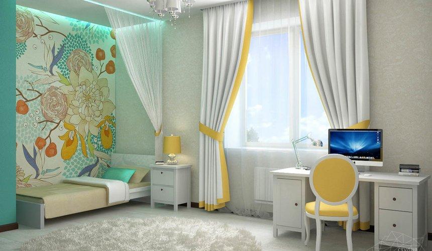 Дизайн проект интерьера коттеджа  в стиле минимализм по ул. Барвинка 15 75