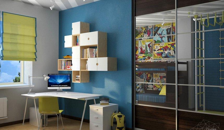 Дизайн проект интерьера коттеджа  в стиле минимализм по ул. Барвинка 15 81