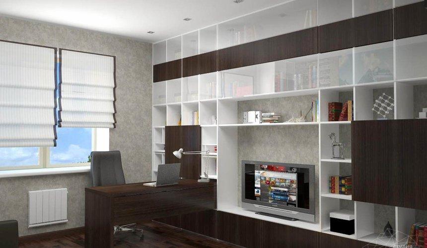 Дизайн проект интерьера коттеджа  в стиле минимализм по ул. Барвинка 15 88