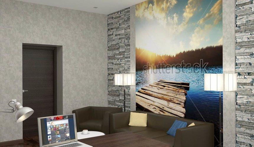 Дизайн проект интерьера коттеджа  в стиле минимализм по ул. Барвинка 15 89