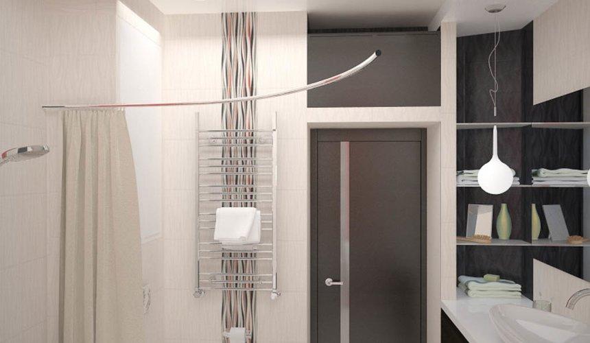 Дизайн интерьера и ремонт трехкомнатной квартиры по ул. Попова 33а 67