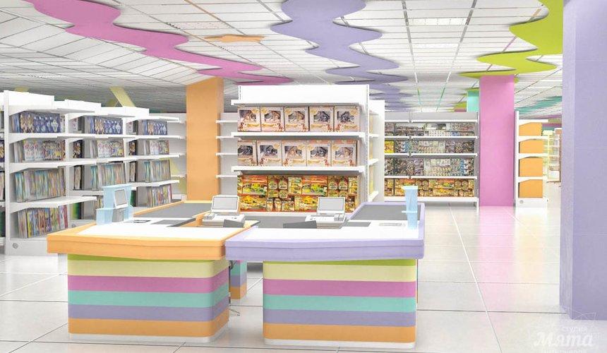 Дизайн интерьера и ремонт детского гипермаркета по ул. Щербакова 4 40