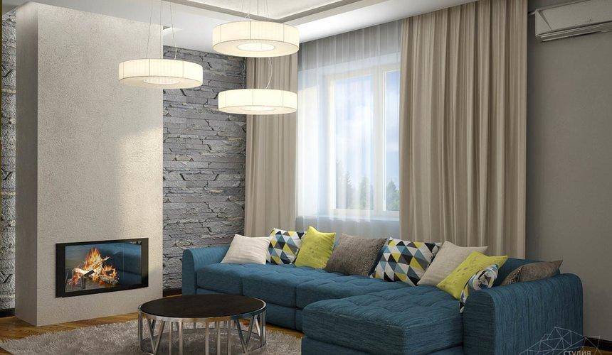 Дизайн проект интерьера коттеджа  в стиле минимализм по ул. Барвинка 15 51
