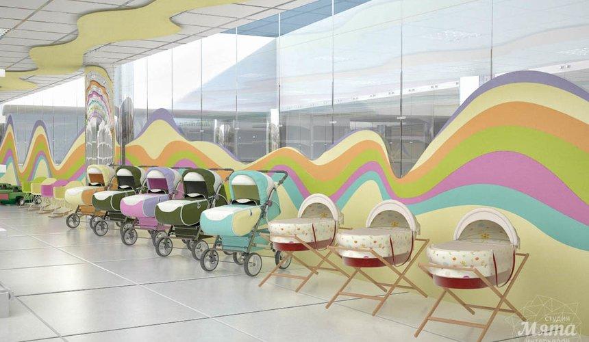 Дизайн интерьера и ремонт детского гипермаркета по ул. Щербакова 4 41
