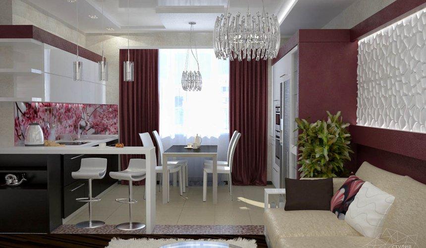 Дизайн интерьера и ремонт трехкомнатной квартиры по ул. Попова 33а 46