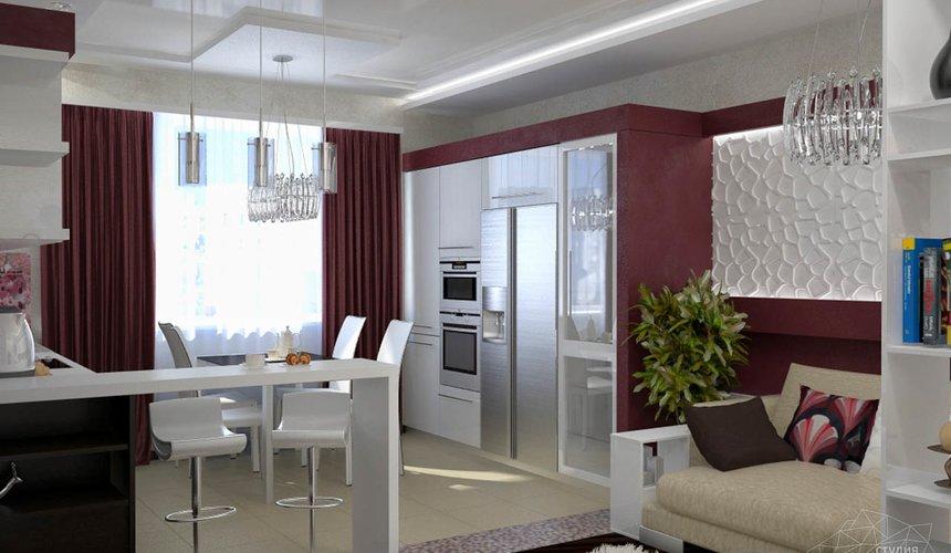 Дизайн интерьера и ремонт трехкомнатной квартиры по ул. Попова 33а 44
