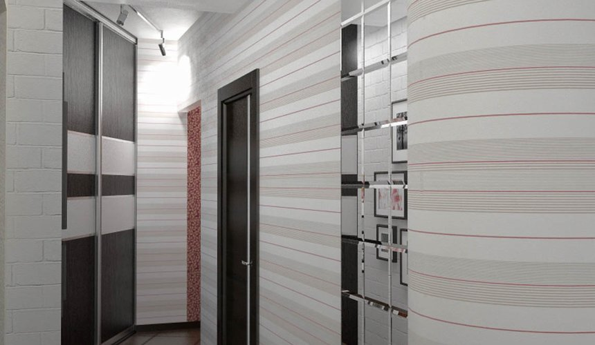 Дизайн интерьера и ремонт трехкомнатной квартиры по ул. Попова 33а 22