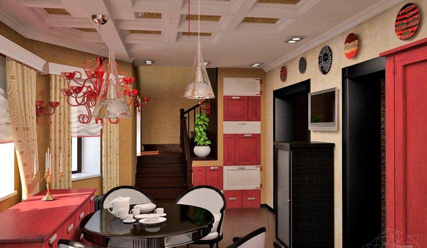 Дизайн интерьера коттеджа первого этажа по ул. Урожайная 17 10