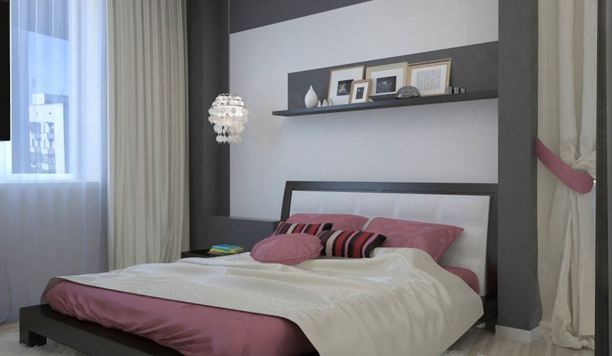 Дизайн интерьера и ремонт трехкомнатной квартиры по ул. Попова 33а 25
