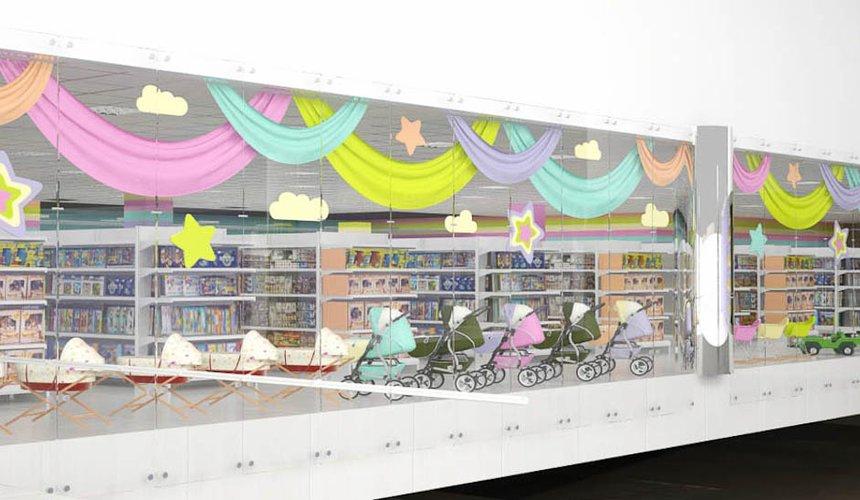 Дизайн интерьера и ремонт детского гипермаркета по ул. Щербакова 4 25