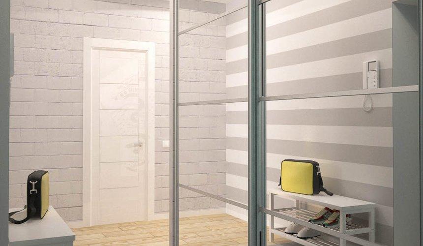 Дизайн интерьера и ремонт однокомнатной квартиры по ул. Сурикова 53а 52