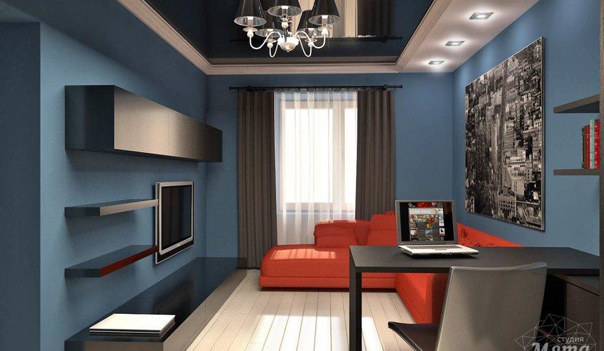 Дизайн интерьера и ремонт однокомнатной квартиры по ул. Комсомольская 45 34