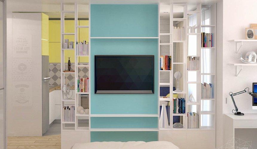 Дизайн интерьера и ремонт однокомнатной квартиры по ул. Сурикова 53а 49