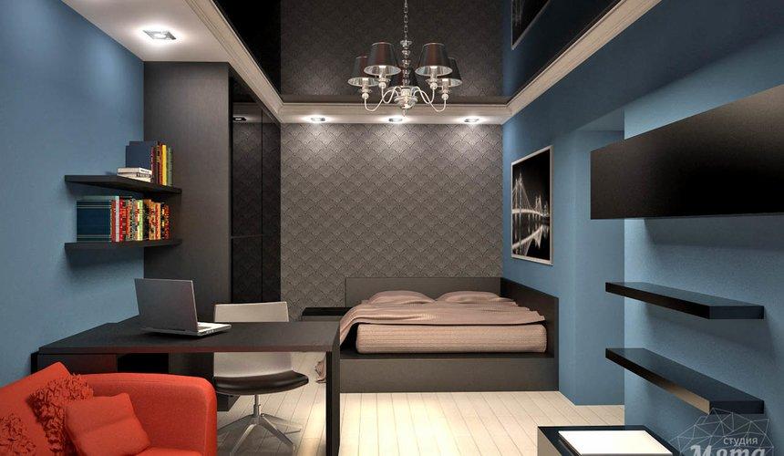 Дизайн интерьера и ремонт однокомнатной квартиры по ул. Комсомольская 45 39