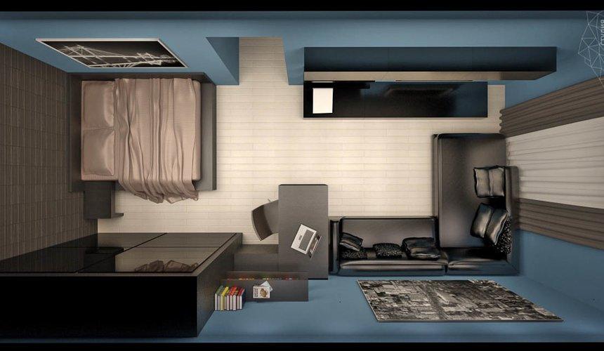 Дизайн интерьера и ремонт однокомнатной квартиры по ул. Комсомольская 45 40
