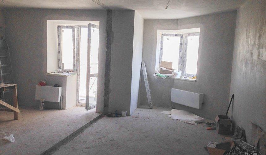 Дизайн интерьера и ремонт однокомнатной квартиры по ул. Сурикова 53а 1