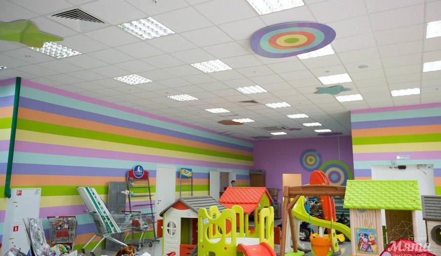 Дизайн интерьера и ремонт детского гипермаркета по ул. Щербакова 4 14