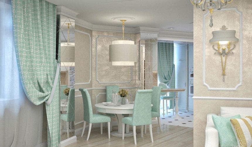 Дизайн интерьера и ремонт трехкомнатной квартиры по ул. 8 Марта 190 12