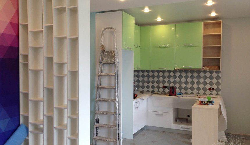 Дизайн интерьера и ремонт однокомнатной квартиры по ул. Сурикова 53а 37