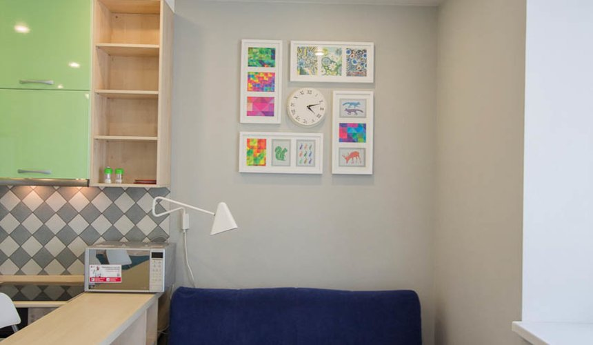 Дизайн интерьера и ремонт однокомнатной квартиры по ул. Сурикова 53а 8
