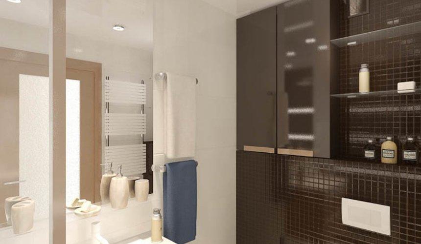 Дизайн интерьера и ремонт однокомнатной квартиры по ул. Бажова 134 29