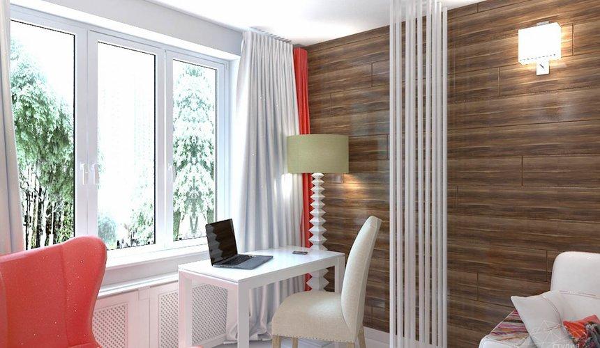 Дизайн интерьера однокомнатной квартиры в стиле минимализм по ул. Чапаева 30 2