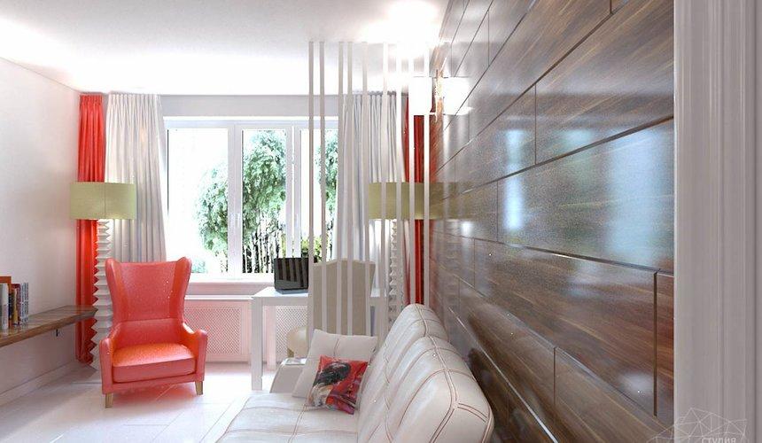 Дизайн интерьера однокомнатной квартиры в стиле минимализм по ул. Чапаева 30 3