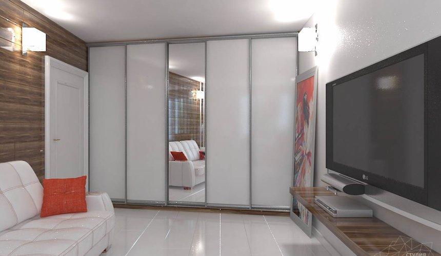 Дизайн интерьера однокомнатной квартиры в стиле минимализм по ул. Чапаева 30 5