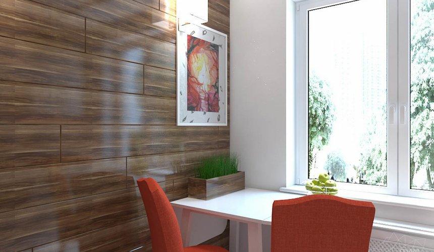 Дизайн интерьера однокомнатной квартиры в стиле минимализм по ул. Чапаева 30 8