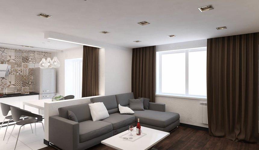Дизайн интерьера однокомнатной квартиры по ул. Гагарина 27 7