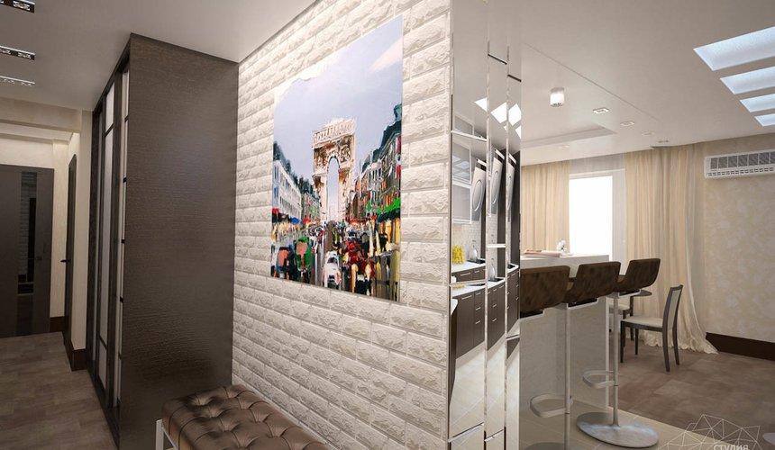 Дизайн интерьера трехкомнатной квартиры по ул. Белинского 222 11