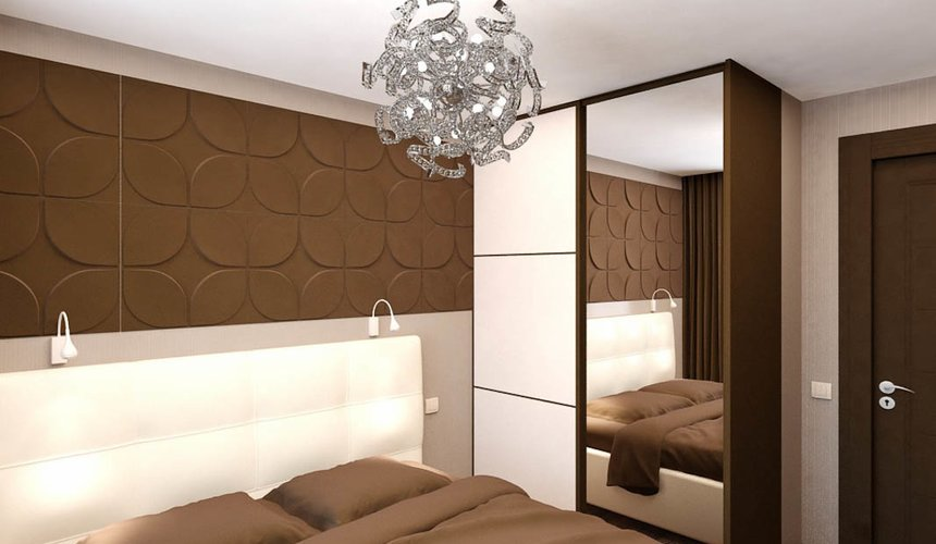 Дизайн интерьера двухкомнатной квартиры по ул. Бебеля 156 19