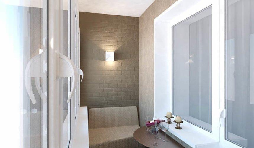 Дизайн интерьера двухкомнатной квартиры по ул. Бебеля 156 28
