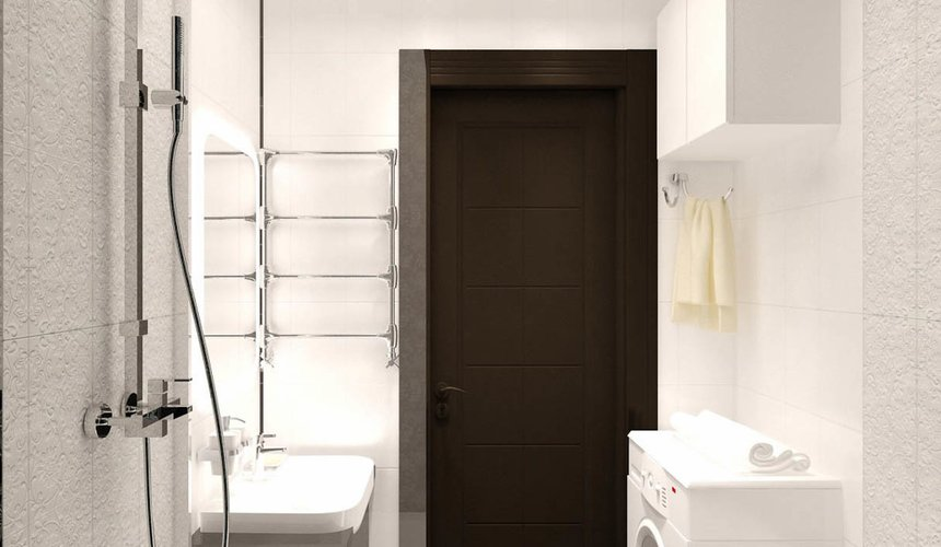 Дизайн интерьера двухкомнатной квартиры по ул. Бебеля 156 22