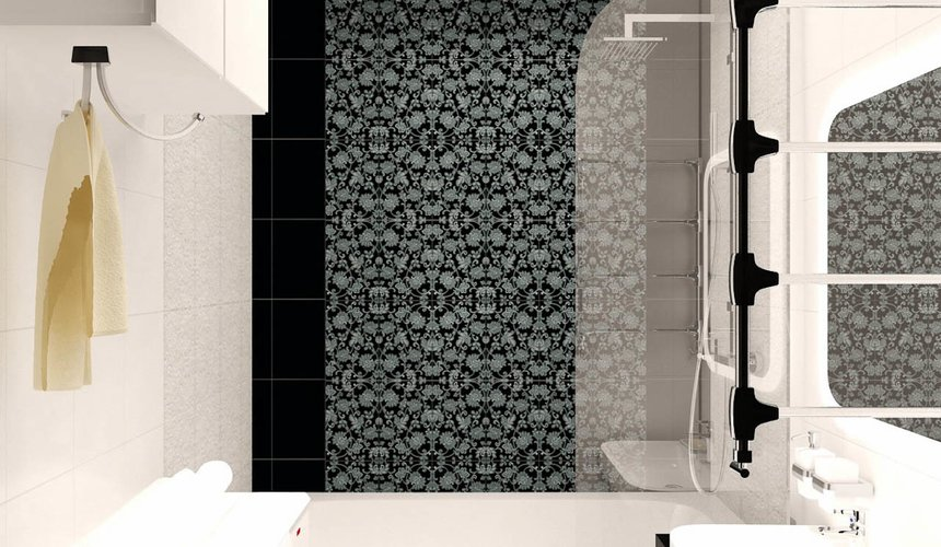 Дизайн интерьера двухкомнатной квартиры по ул. Бебеля 156 23