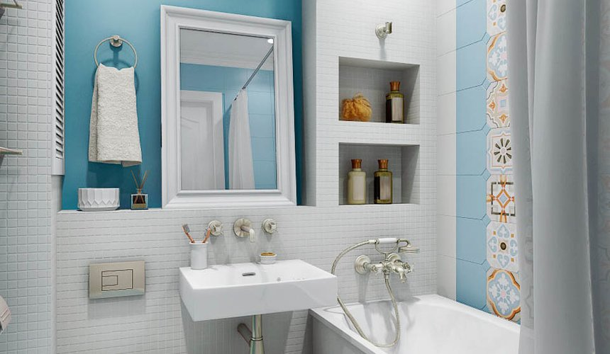 Дизайн интерьера однокомнатной квартиры по ул. Мичурина 231 12