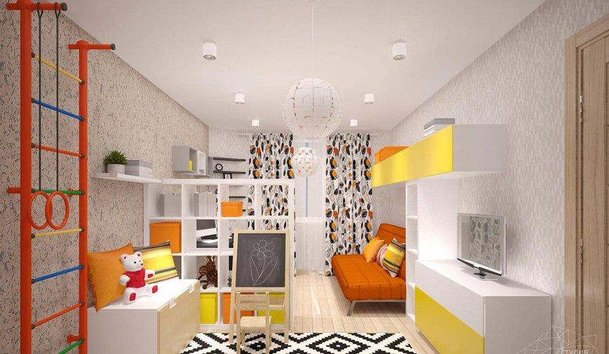 Дизайн интерьера однокомнатной квартиры в современном стиле по ул. Агрономическая 47 11
