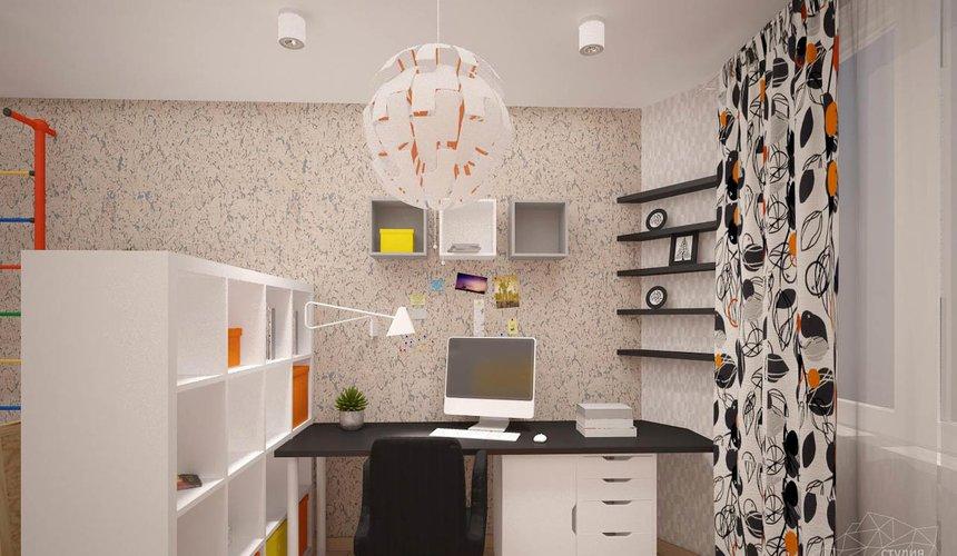 Дизайн интерьера однокомнатной квартиры в современном стиле по ул. Агрономическая 47 12