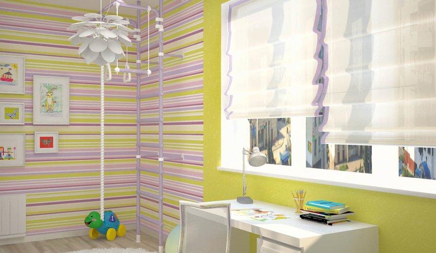 Дизайн интерьера и ремонт трехкомнатной квартиры по ул. Попова 33а 73