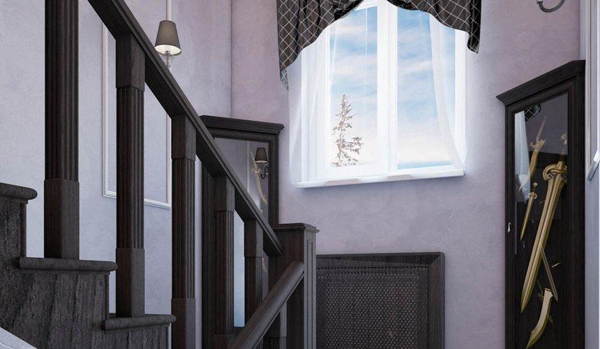 Дизайн интерьера коттеджа в п. Новый Исток 28