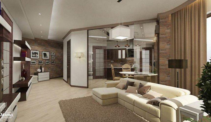 Дизайн интерьера трехкомнатной квартиры по ул. Куйбышева 21-2 3
