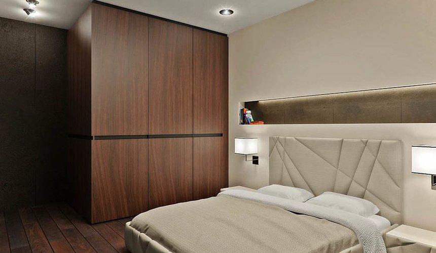 Дизайн интерьера однокомнатной квартиры в стиле хай тек по ул. Щербакова 35 2