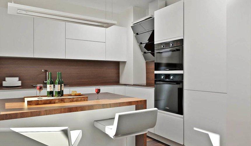 Дизайн интерьера однокомнатной квартиры в стиле хай тек по ул. Щербакова 35 6