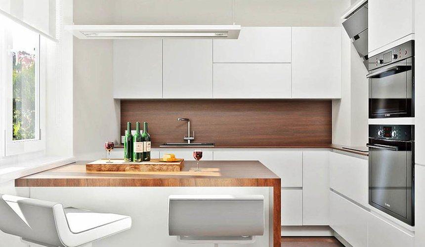 Дизайн интерьера однокомнатной квартиры в стиле хай тек по ул. Щербакова 35 10
